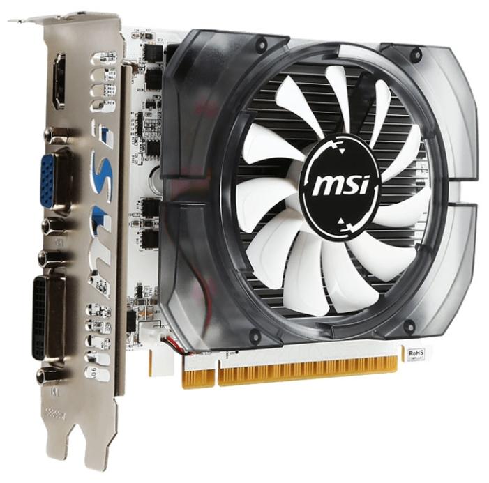 Видеокарта GeForce MSI GeForce GT 730 700Mhz PCI-E 2.0 4096Mb 1000Mhz 128 bit DVI HDMI HDCP N730-4GD3V2