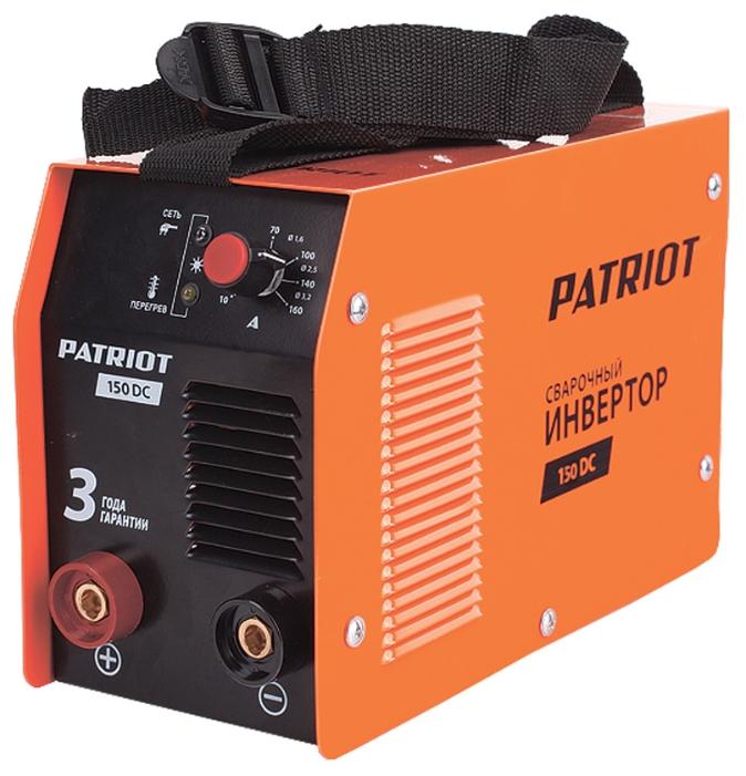 Сварочный аппарат Patriot 150DC MMA, 3.7кВт [605302514]