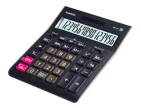����������� Casio GR-16 ������ GR-16-W-EH