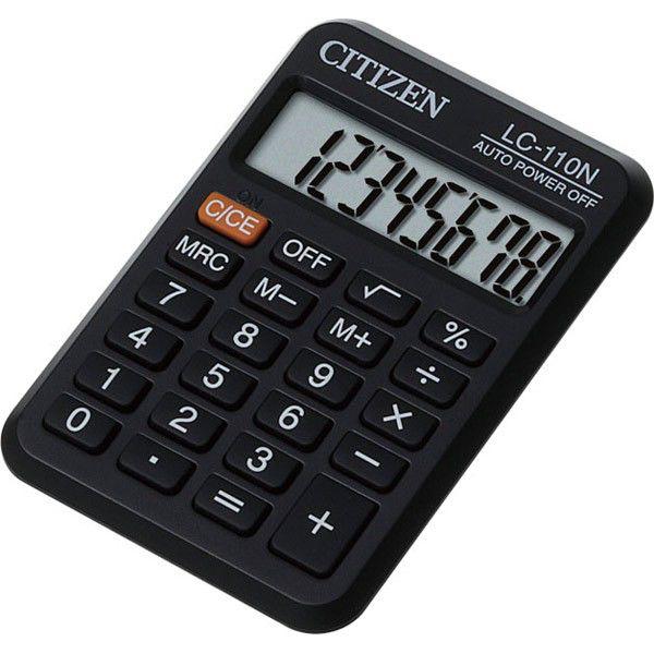Калькулятор Citizen LC-110N 8-разрядный чёрный