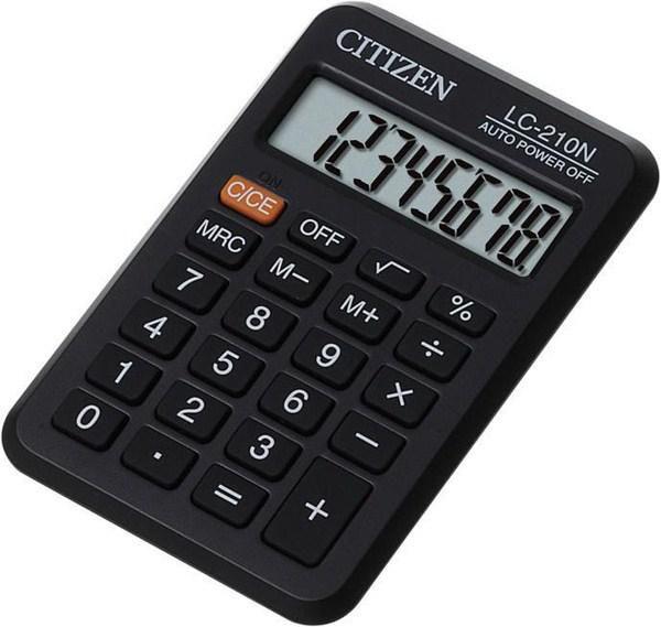 Калькулятор Citizen LC-210N 8-разрядный чёрный