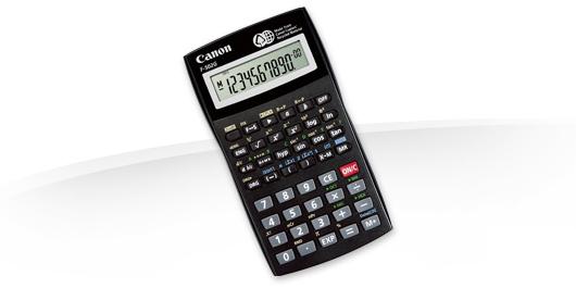 Калькулятор Canon F-502G 12-разрядный Чёрный
