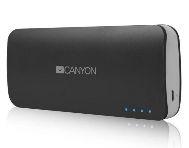 Аксессуар для телефона Мобильный аккумулятор Canyon CNE-CPB100DG, тёмно-серый H2CNECPB100DG