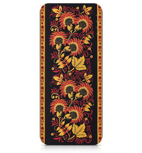 Аксессуар для телефона Мобильный аккумулятор Canyon CNE-CPB130KH, хохлома H2CNECPB130KH