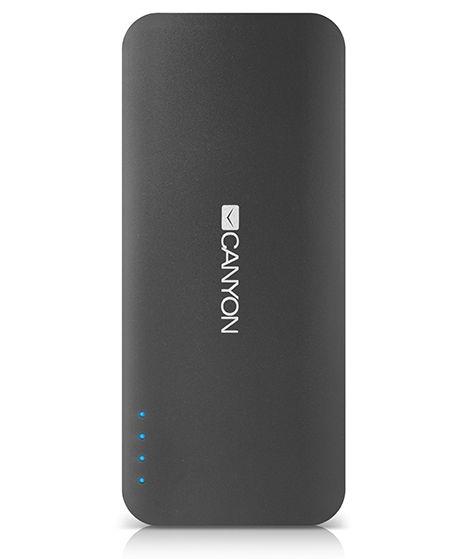 Аксессуар для телефона Мобильный аккумулятор Canyon CNE-CPB130DG, тёмно-серый H2CNECPB130DG