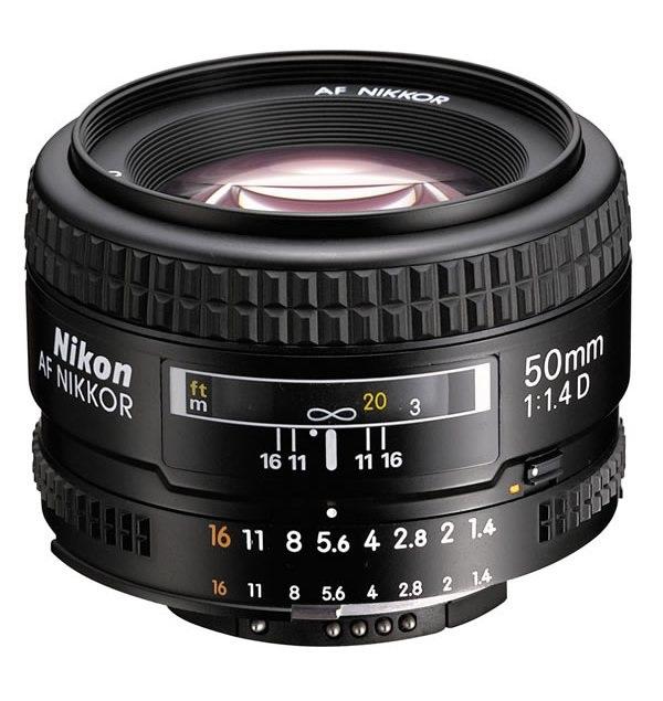 �������� ��� ���� Nikon 50 mm f/1.4D AF Nikkor JAA011DB