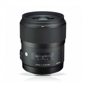 Объектив для фото Sigma AF 35 mm F/1.4 DG HSM для Nikon 340955