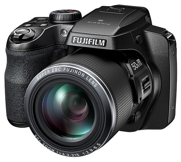 Цифровой фотоаппарат Fujifilm FinePix S9800, черный FX-S9800B-RU