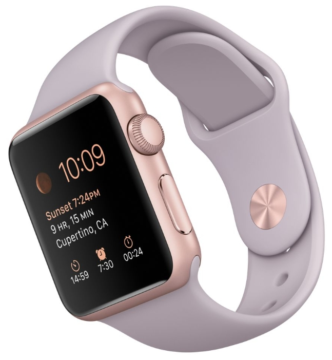 ����� ���� apple Watch Sport 38mm with Sport Band ���������� MLCH2RU/A