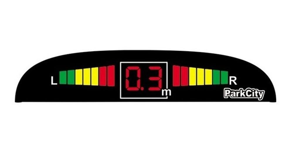 Парковочный радар ParkCity Center 418/102 черный