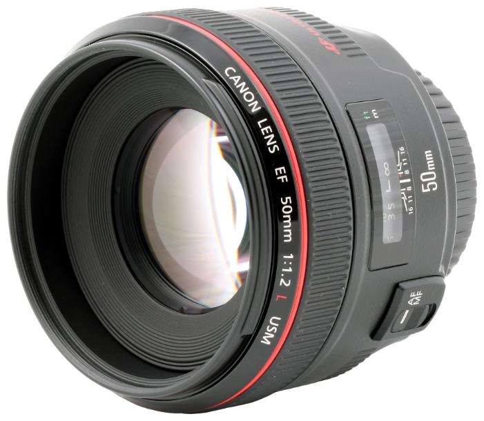 Объектив для фото Canon EF 50 mm f/1.2L USM 1257B005