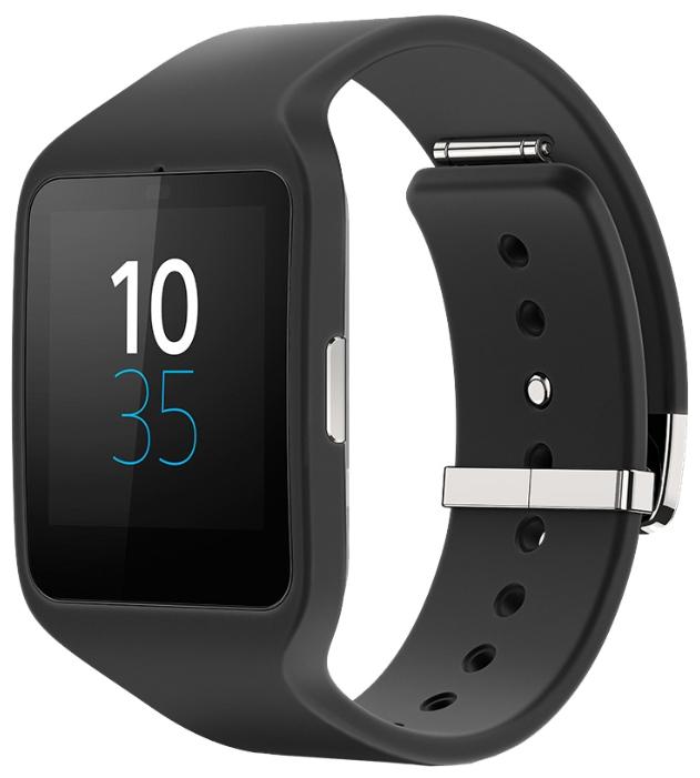 Умные часы SONY SmartWatch 3 SWR50, черные 1287-4372