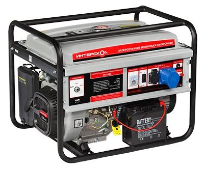 Электрогенератор Interskol ЭБ-6500 280.1.0.00