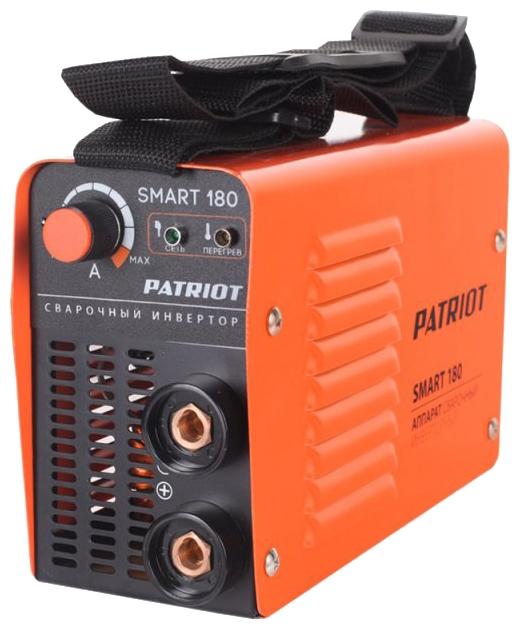 Сварочный аппарат Patriot Smart 180 MMA, инвертор ММА DC 3.7кВт 605301835