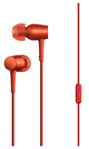 SONY MDR-EX750APRM красные