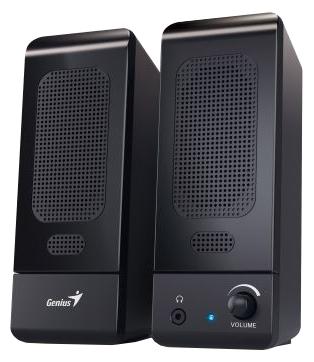 Компьютерная акустика Genius SP-U120, черная 31731057100