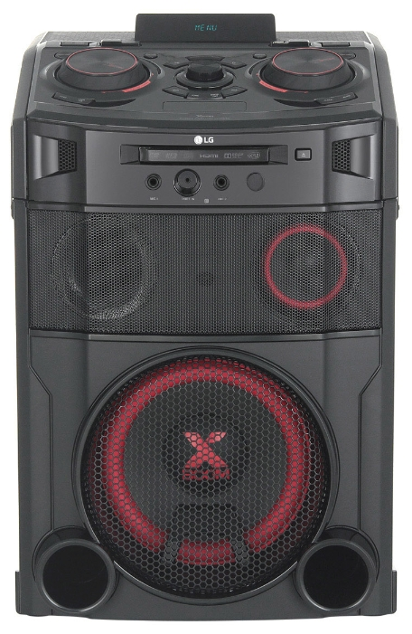 Музыкальный центр LG Midi OM7550K