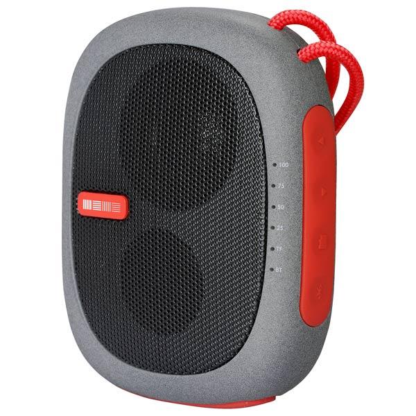 Портативная акустика InterStep SBS-260 (IS-LS-SBS260RED-000B201), красная