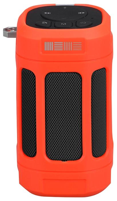Портативная акустика InterStep SBS-120, красная IS-LS-SBS120RED-000B201