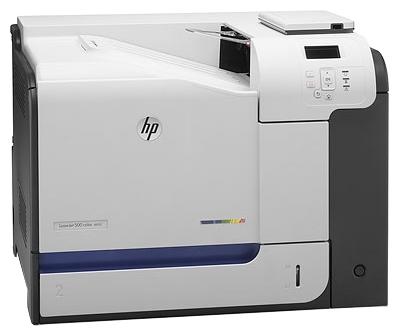 Лазерный цветной принтер HP LaserJet Enterprise M551dn CF082A