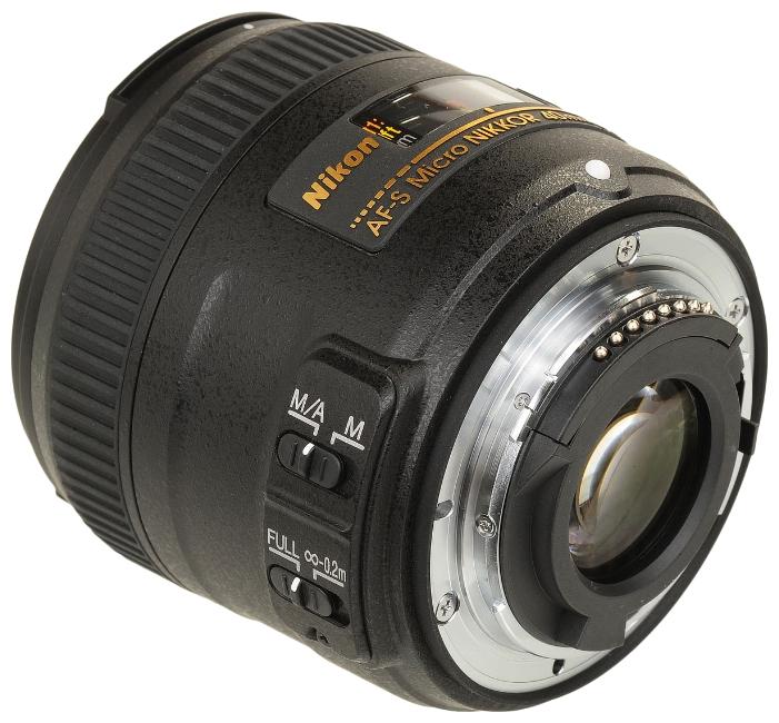 Объектив для фото Nikon 40mm f/2.8G AF-S DX Micro Nikkor (JAA638DA)