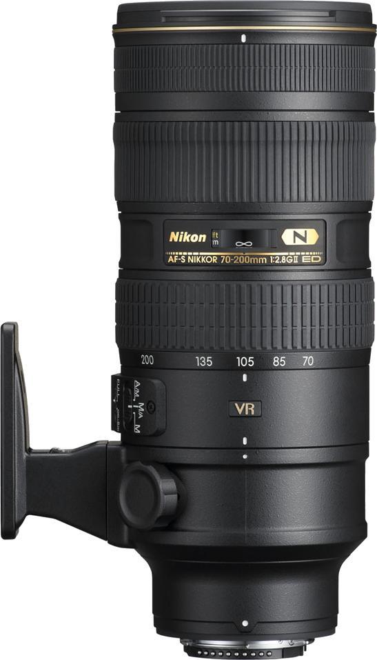Объектив для фото Nikon 70-200mm f/2.8G ED AF-S VR II Zoom-Nikkor JAA807DA