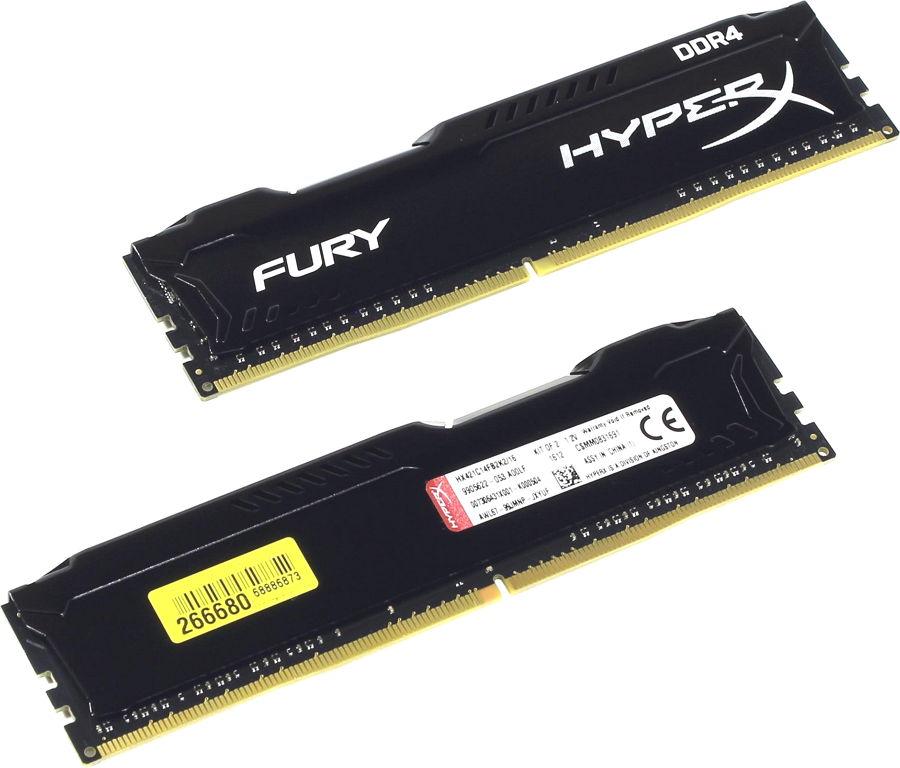Модуль памяти Kingston HX421C14FB2K2/16 (DDR4, 2x 8Gb 2133MHz, CL14-14-14, DIMM)