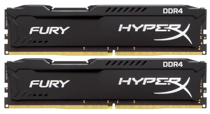 Модуль памяти Kingston DDR4 8192Mb 2400MHz 2*4Gb HX424C15FBK2/8