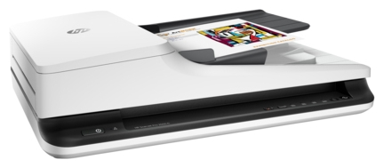 Сканер HP ScanJet Pro 2500 F1, планшетный L2747A