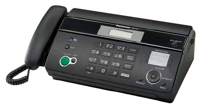 Факс Panasonic KX-FT984RU чёрный KX-FT984RUB