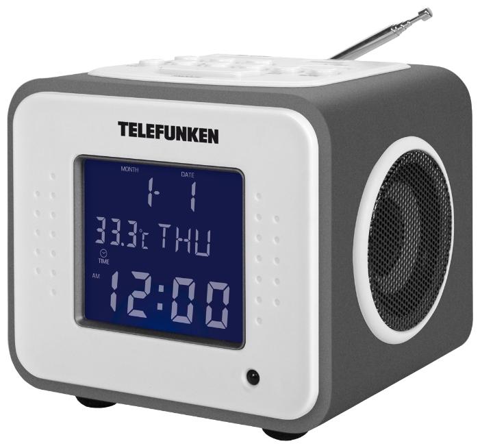 Радиоприемник TELEFUNKEN TF-1625U, титан/пурпурный TF-1625U Titan/Purple