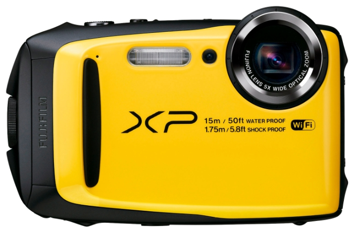 Цифровой фотоаппарат Fujifilm XP90, желтый 16500442
