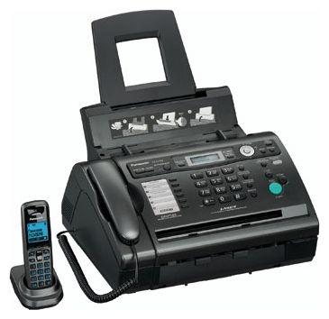 Факс Panasonic KX-FLC418RU, черный