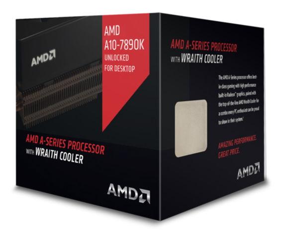 Процессор AMD A10-7890K Godavari (FM2+, L2 4096Kb, Retail) AD789KXDJCHBX