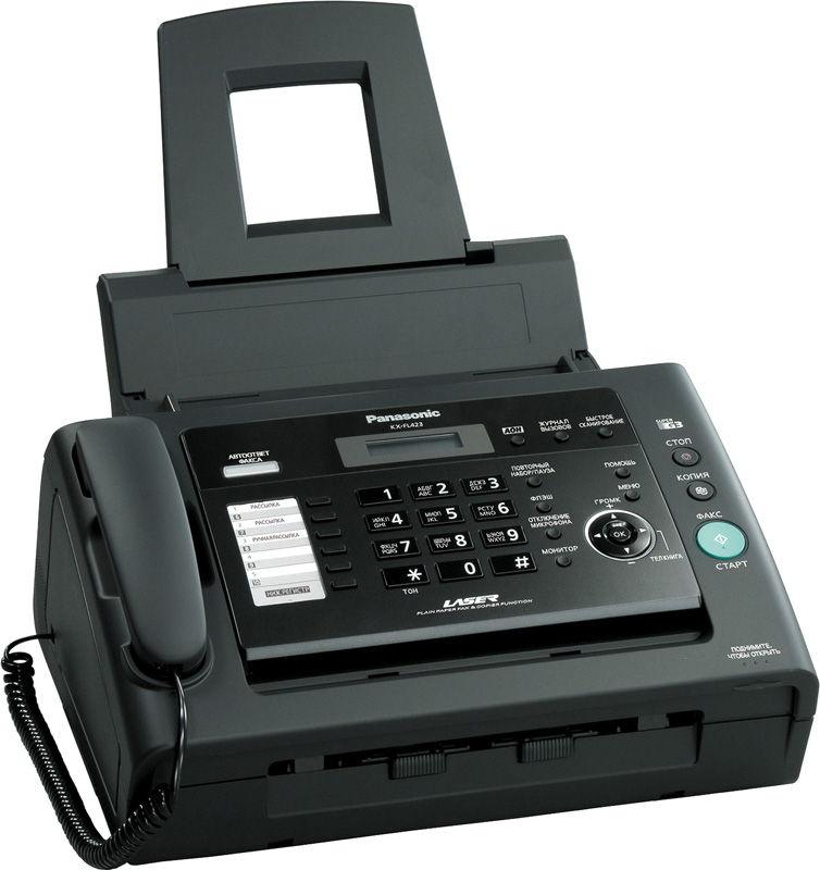 Факс Panasonic KX-FL423RU, черный KX-FL423RU_BLACK