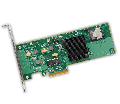 Контроллер LSI-LOGIC LSI Logic MegaRAID SAS SAS9211-4i (LSI00190)