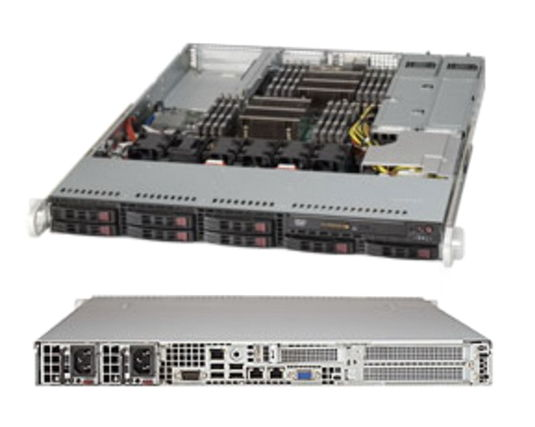 ��������� ��������� Supermicro SuperServer 1027R-WRF SYS-1027R-WRF