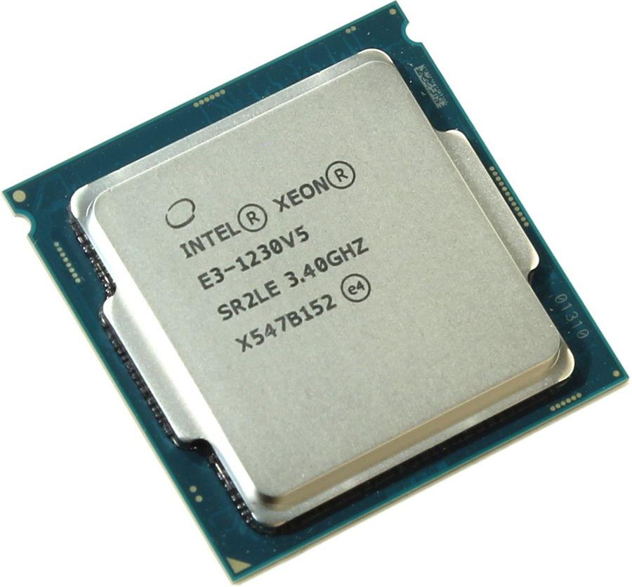 ��������� Intel Xeon E3-1230 V5 (3400MHz, LGA1155, L3 8192Kb, Retail) CM8066201921713
