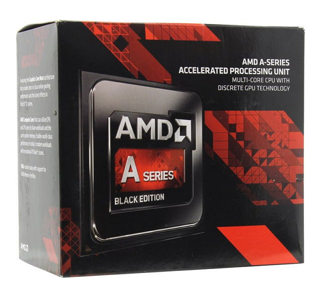 Процессор AMD A10-7860K Godavari (FM2+, L2 4096Kb, Retail) AD786KYBJCSBX