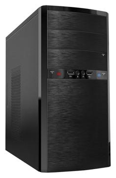 Корпус PowerCase ES722 400W Black (mATX) ES722BK