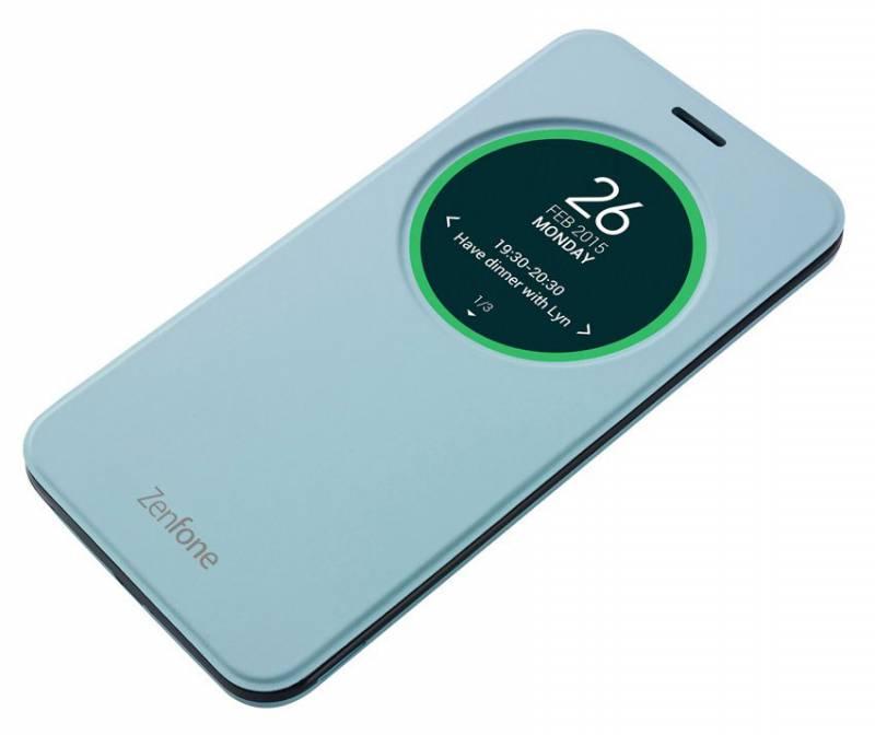 ASUS ZenFone Selfie ZD551KL MyView Cover Delux, голубой