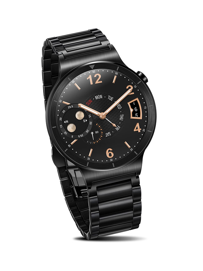����� ���� Huawei Watch Active Black 55020706, ������ 6901443092154