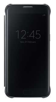 для Samsung Galaxy S7 Clear View Cover чёрный
