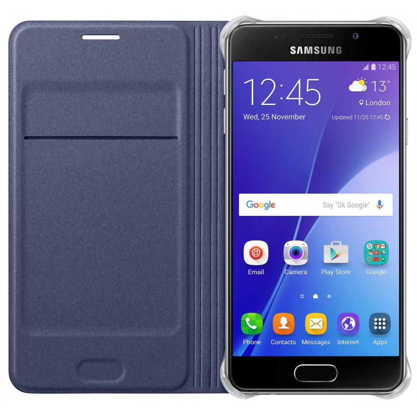 Samsung для Galaxy A5 (2016) Flip Wallet черный