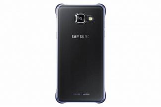 Samsung для Galaxy A5 (2016) Clear Cover черный/прозрачный