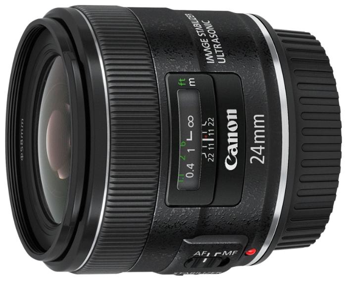 Объектив для фото Canon EF 24mm f/2.8 IS USM 5345B005