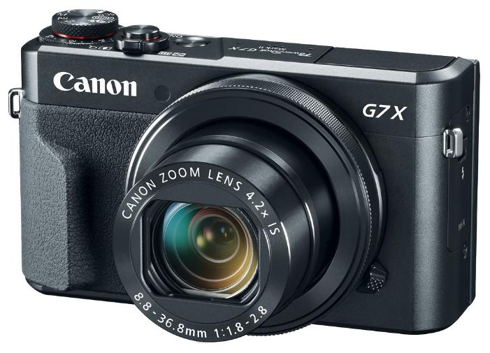 Цифровой фотоаппарат Canon PowerShot G7X Mark II, черный