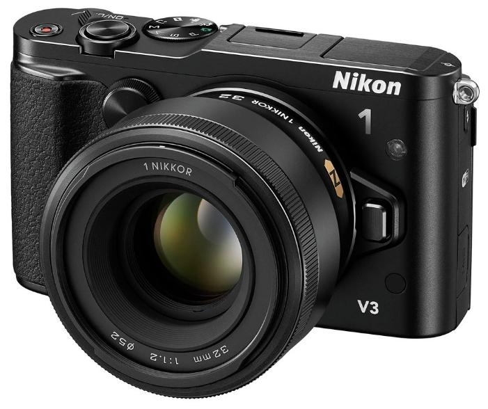 Цифровой фотоаппарат Nikon 1 V3 KIT (VR 10-30mm f/3.5-5.6 PD-ZOOM), черный VVA231K001