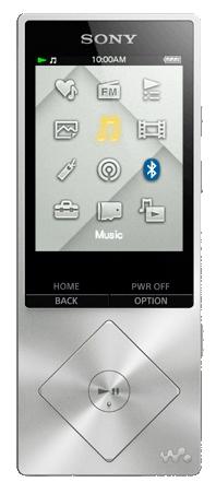 Медиаплеер SONY NWZ-A15, 16 ГБ, серебристый NWZA15S.EE