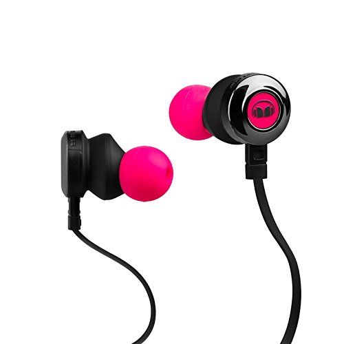 Monster Clarity HD High Definition In-Ear, розовый неон